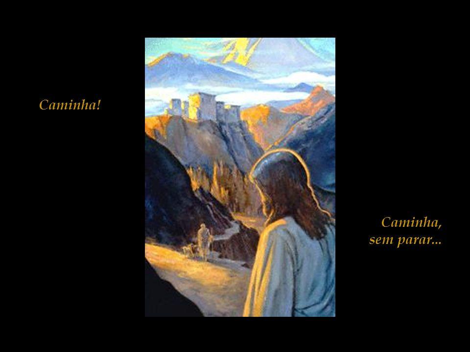 Ai de ti Jerusalém! Ai de ti Jerusalém! Que matas os Profetas e lapidas aqueles que te são enviados! Quantas vezes pretendi reunir os teus filhos, com