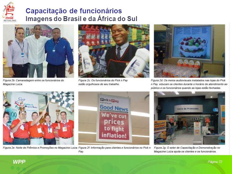Capacitação de funcionários Imagens do Brasil e da África do Sul Página 72