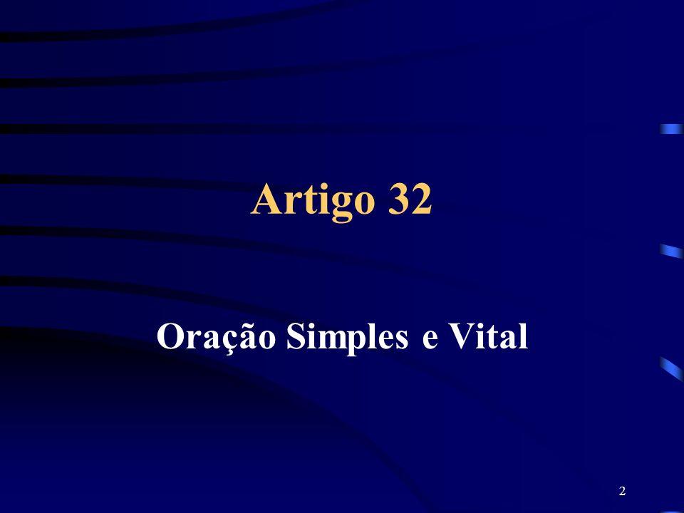 2 Artigo 32 Oração Simples e Vital