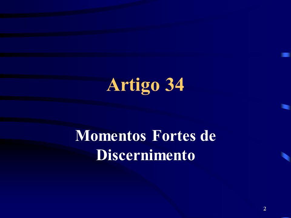 2 Artigo 34 Momentos Fortes de Discernimento