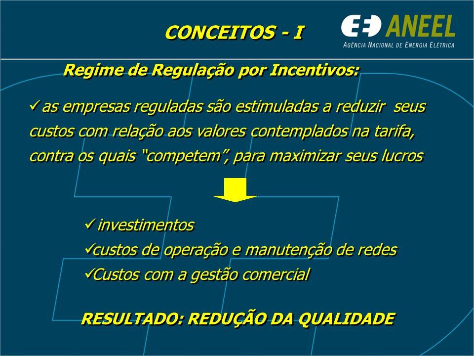 as empresas reguladas são estimuladas a reduzir seus custos com relação aos valores contemplados na tarifa, contra os quais competem, para maximizar s