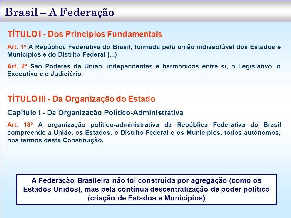 Receitas Tributárias TÍTULO VI - Da Tributação e do Orçamento Capítulo I - Do Sistema Tributário Nacional Seção I - Dos Princípios Gerais Art.