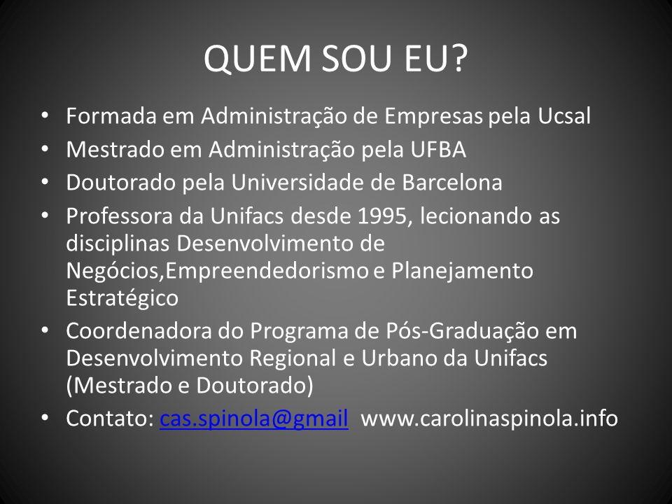 ESTRUTURA DA DISCIPLINA EMENTA : Formação do Pensamento Estratégico.