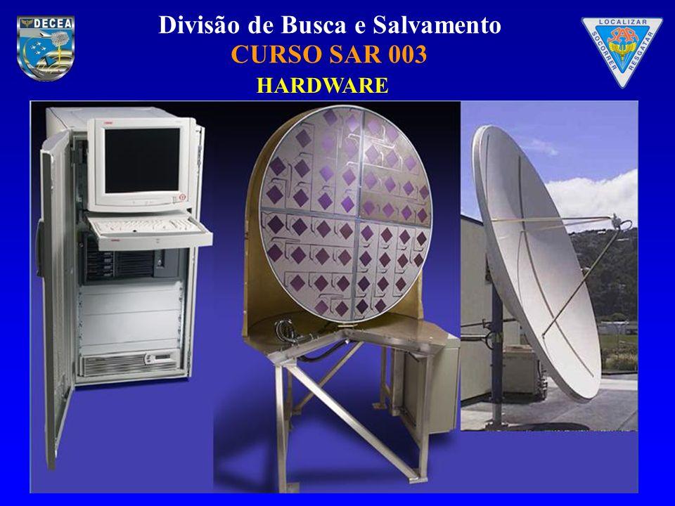 Divisão de Busca e Salvamento CURSO SAR 003 Monitor de status O Monitor de status é acessado dando-se um duplo clique no ícone da Janela de gerenciamento
