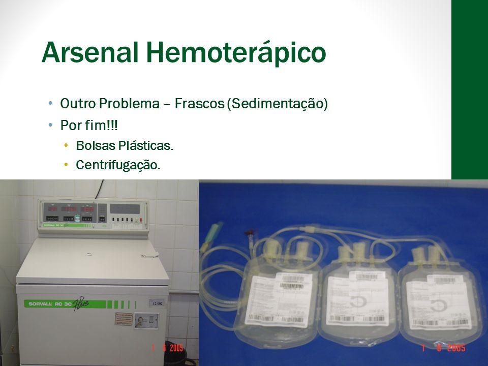 Concentrado de Hemácias Lavadas Definição vaga – hemácias remanescentes após a lavagem com alguma solução para remover plasma.
