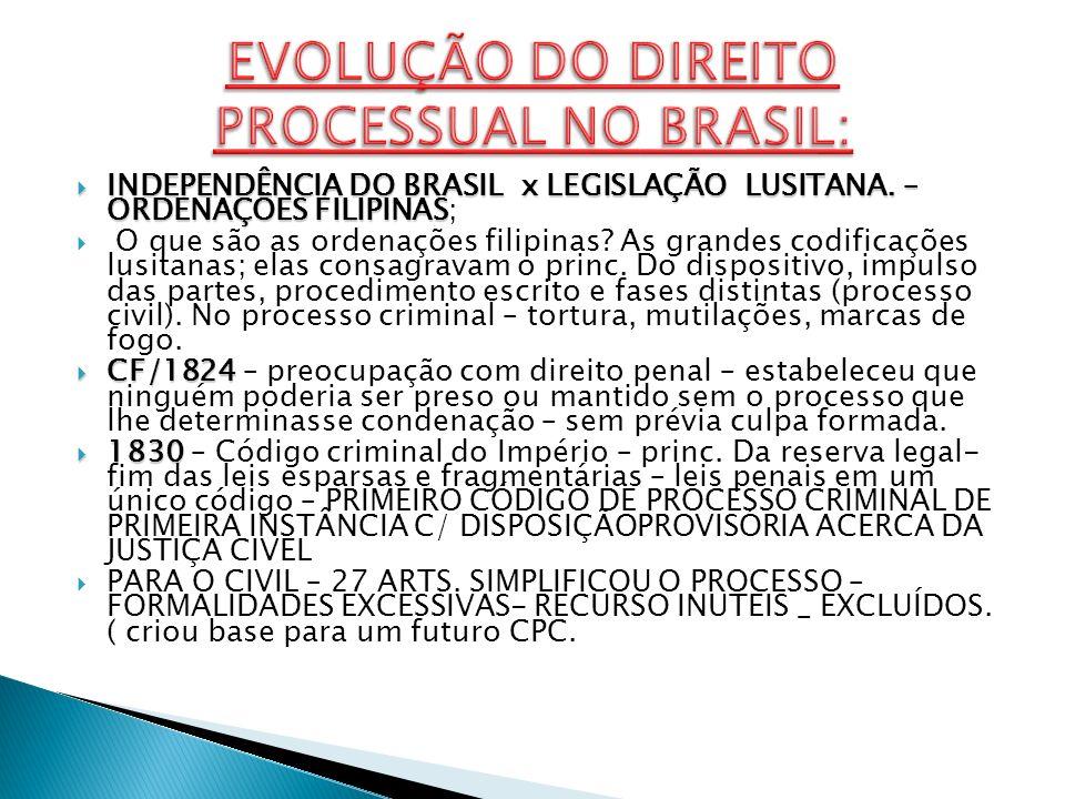 LEI 261/1841 LEI 261/1841 – alterou o código de processo criminal – aumentou os poderes da polícia.