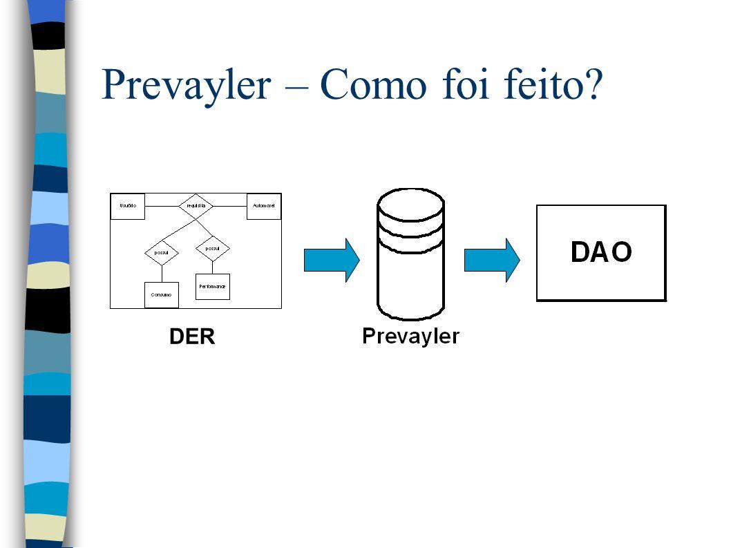 Prevayler – Como foi feito DER