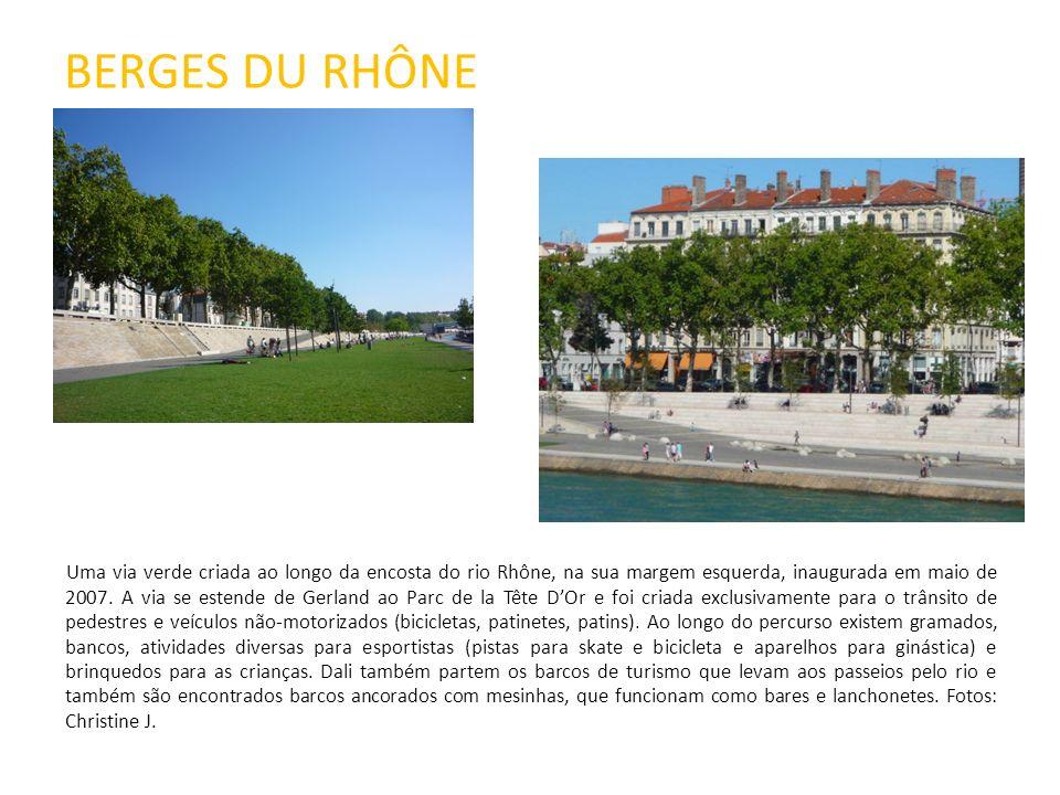 ÎLE BARBE Ilha situada no meio do Rio Saône, na região norte de Lyon.