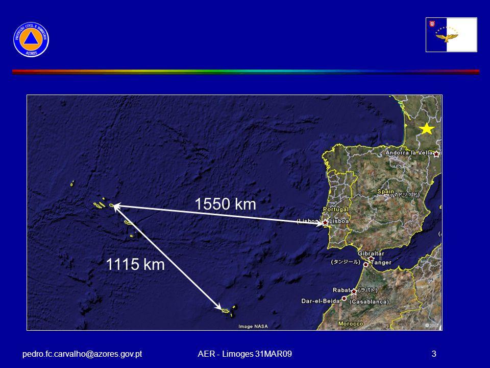 pedro.fc.carvalho@azores.gov.ptAER - Limoges 31MAR093 1550 km 1115 km