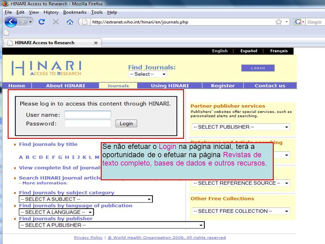 EndNote Web Usando o menu Fontes de Referência terá acesso ao EndNote Web, uma das três opções para este tipo de software bibliográfico.