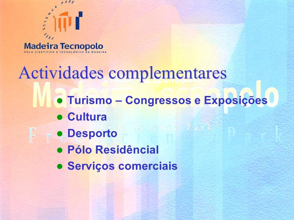 Intervenção do Madeira Tecnopolo Articulação e implementação da Sociedade de Informação na Região Candidaturas a iniciativas nacionais e comunitárias nas áreas estratégicas – NTIC e Desenvolvimento sustentável Promoção da inovação