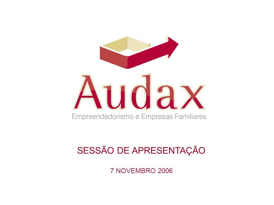 SESSÃO DE APRESENTAÇÃO 7 NOVEMBRO 2006