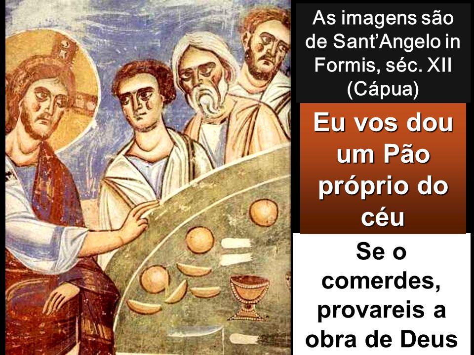 Jo 6, 51-58 Naquele tempo, disse Jesus à multidão: «Eu sou o pão vivo descido do Céu. Quem comer deste pão viverá eter- namente.