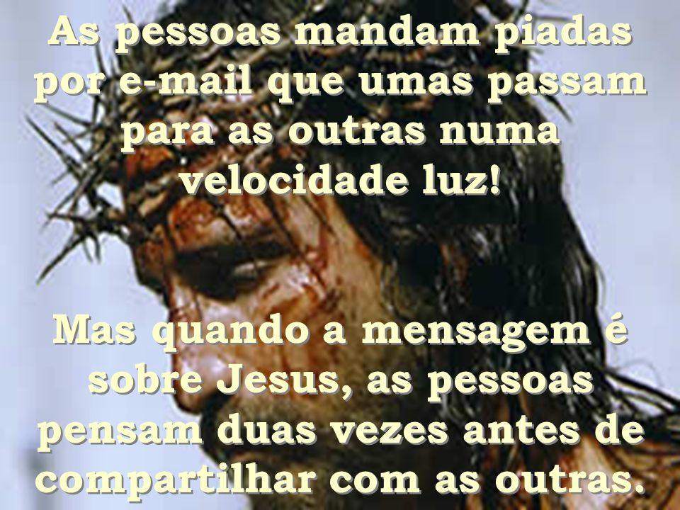 Muitos dizem: Eu acredito em Deus, (o diabo também), mas não fazem nada por Ele! Muitos dizem: Eu acredito em Deus, (o diabo também), mas não fazem na
