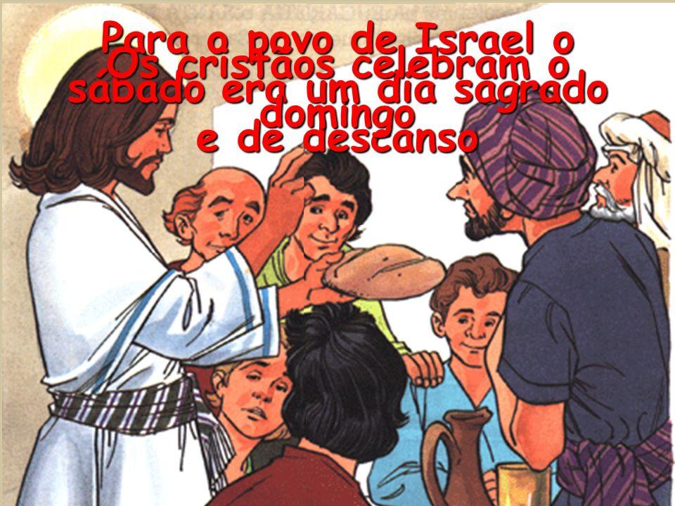 Como cristãos sentimo-nos filhos de Deus e membros da sua família Para celebrar o domingo assistimos à Santa Missa