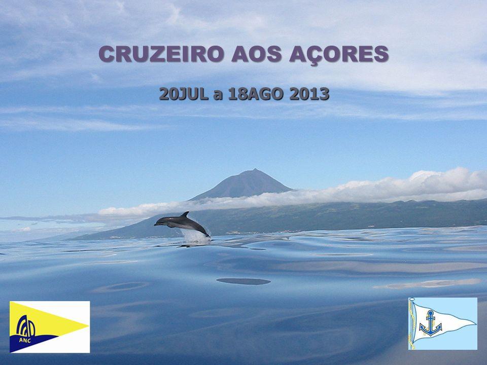 1 CRUZEIRO AOS AÇORES 20JUL a 18AGO 2013
