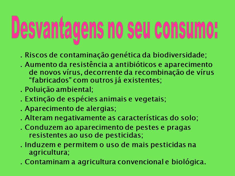 A necessidade do aumento da produção de alimentos a baixo custo;.
