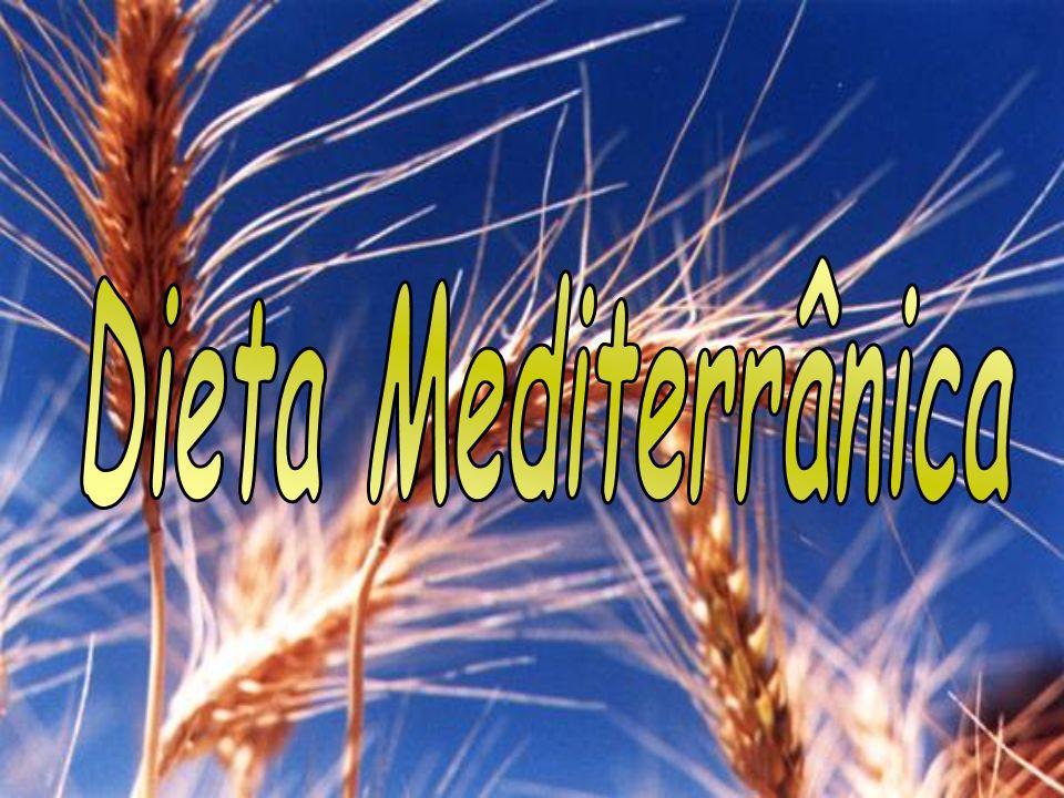 A designação dieta mediterrânica resultou de um estudo dos hábitos alimentares da população da bacia do mediterrânico iniciada na década de 50.