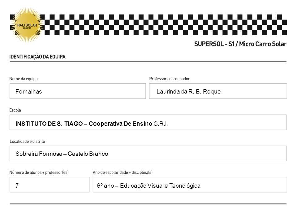 Laurinda da R. B. Roque INSTITUTO DE S. TIAGO – Cooperativa De Ensino C.R.l.