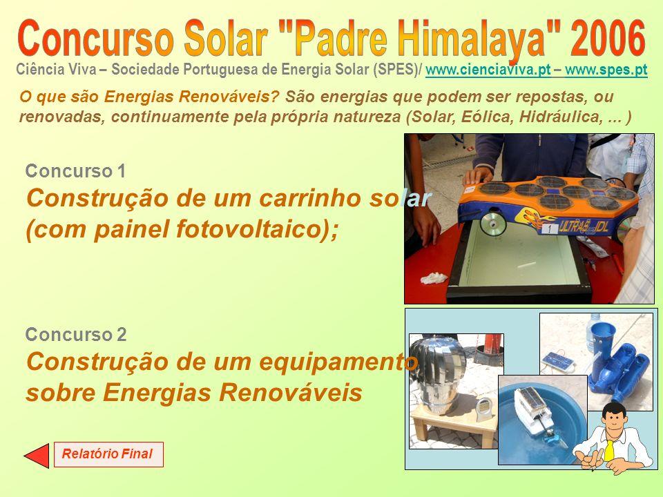Ciência Viva – Sociedade Portuguesa de Energia Solar (SPES)/ www.cienciaviva.pt – www.spes.pt www.cienciaviva.ptwww.spes.pt O que são Energias Renováv