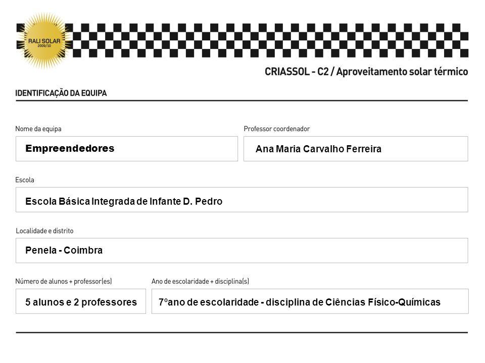 Ana Maria Carvalho Ferreira Escola Básica Integrada de Infante D.