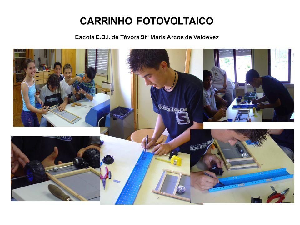 CARRINHO FOTOVOLTAICO Escola E.B.I. de Távora Stª Maria Arcos de Valdevez