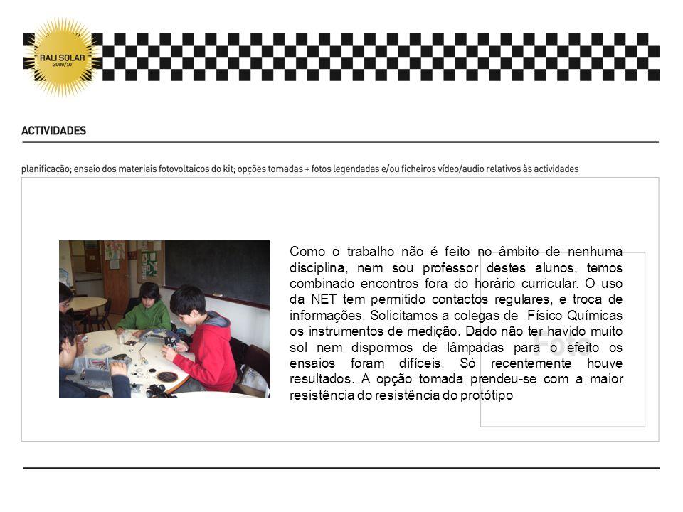 Os alunos tiveram conhecimento do site e dos seus conteúdos.
