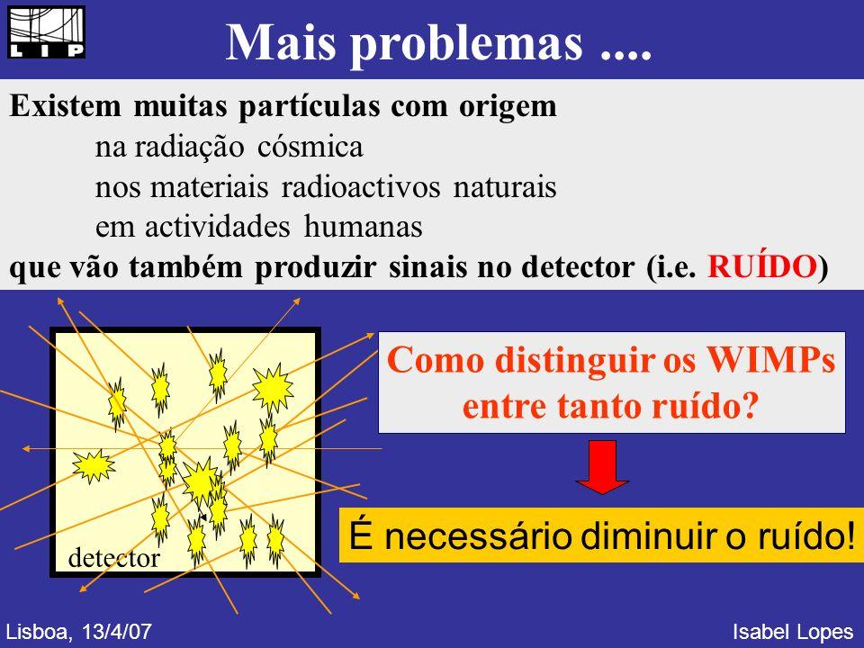 Mais problemas....