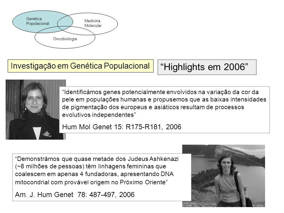 Investigação em Genética Populacional Demonstrámos que quase metade dos Judeus Ashkenazi (~8 milhões de pessoas) têm linhagens femininas que coalescem