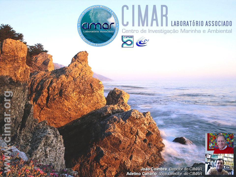 O CIMAR investiga, dissemina e transfere tecnologia relacionada com as Ciências do Mar O Objectivo principal é a investigação básica e aplicada sobre os processos que ocorrem nos ecossistemas aquáticos, incluindo o estudo do impacto das actividades humanas nesses ecossistemas