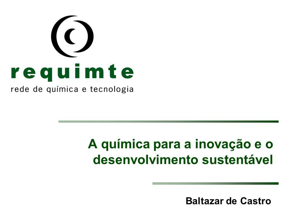 Baltazar de Castro A química para a inovação e o desenvolvimento sustentável