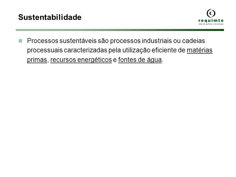 Processos sustentáveis são processos industriais ou cadeias processuais caracterizadas pela utilização eficiente de matérias primas, recursos energéticos e fontes de água.