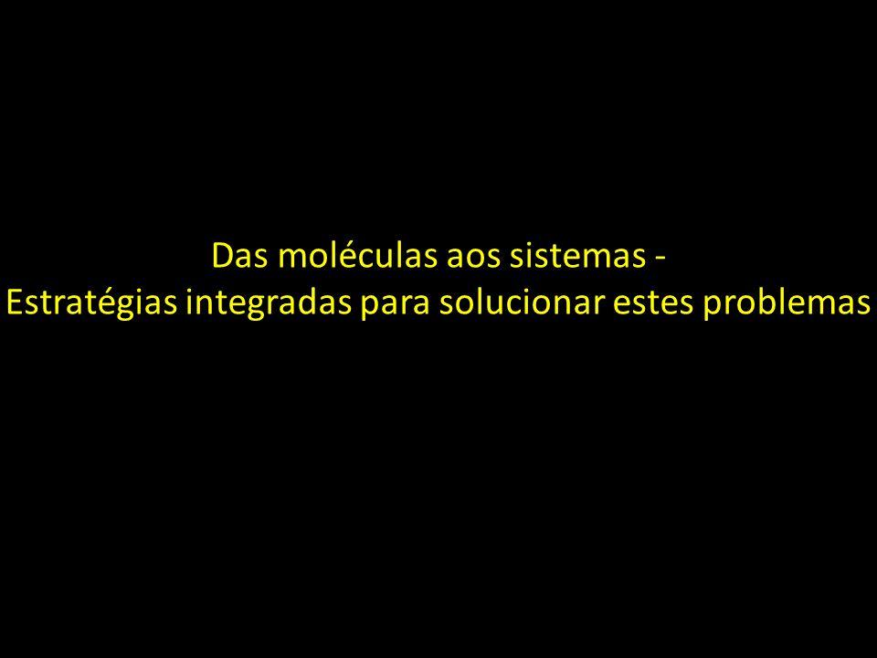 Das moléculas aos sistemas - Estratégias integradas para solucionar estes problemas