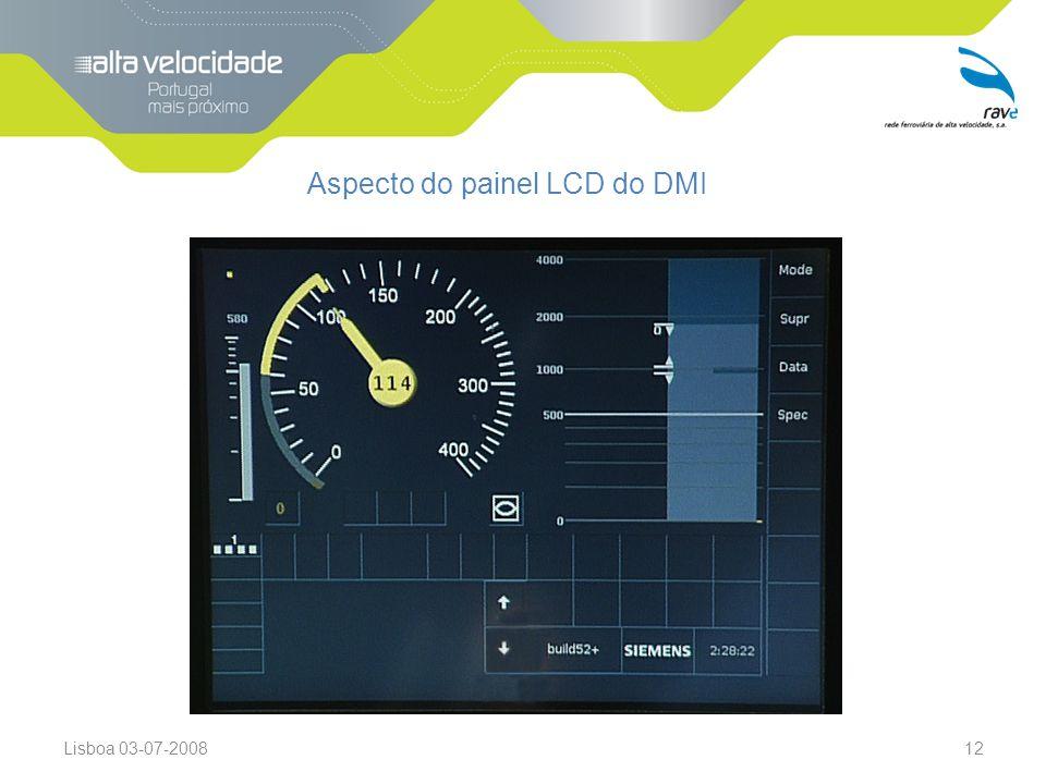 Lisboa 03-07-200812 Aspecto do painel LCD do DMI