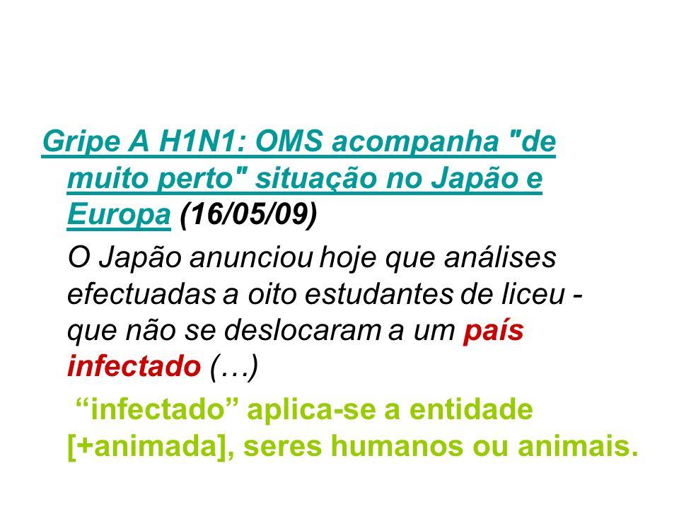 Gripe A H1N1: OMS acompanha