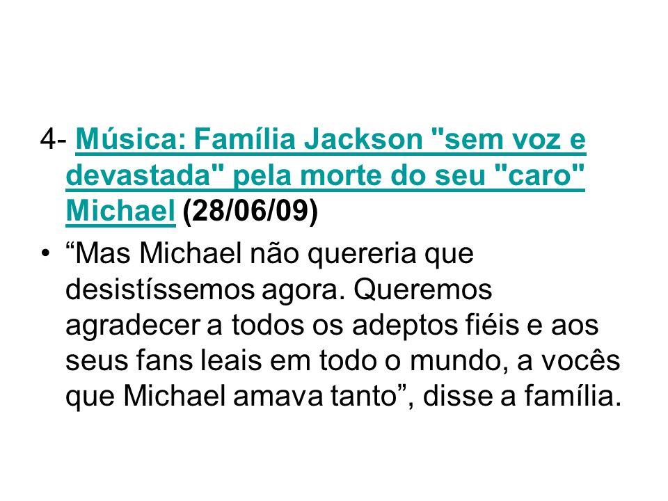 4- Música: Família Jackson