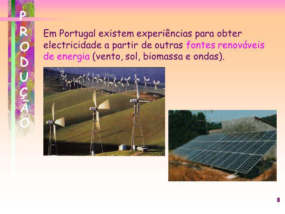 9 TRANSPORTETRANSPORTE Se quisermos transportar uma potência eléctrica S=U.I, com o mínimo de perdas por efeito de Joule, a melhor forma de o fazer é, sem dúvida, aumentar o valor da tensão U.