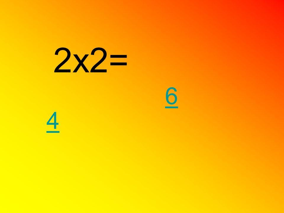 2x2= 4 6