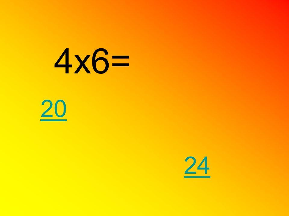 4x6= 24 20