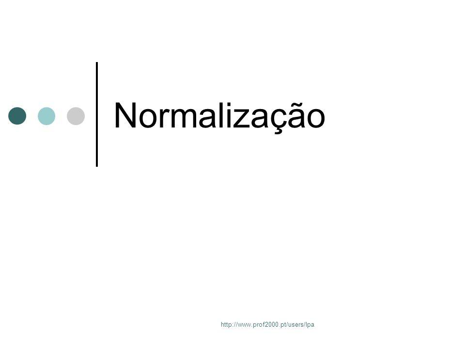 http://www.prof2000.pt/users/lpa Normalização
