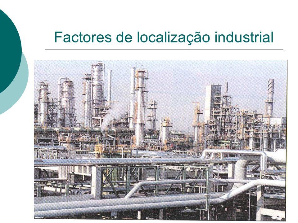 Factores de localização industrial