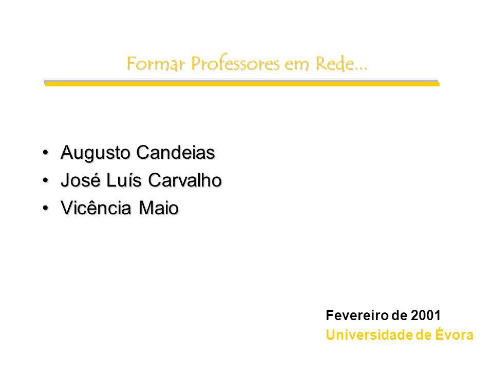 Formar Professores em Rede...