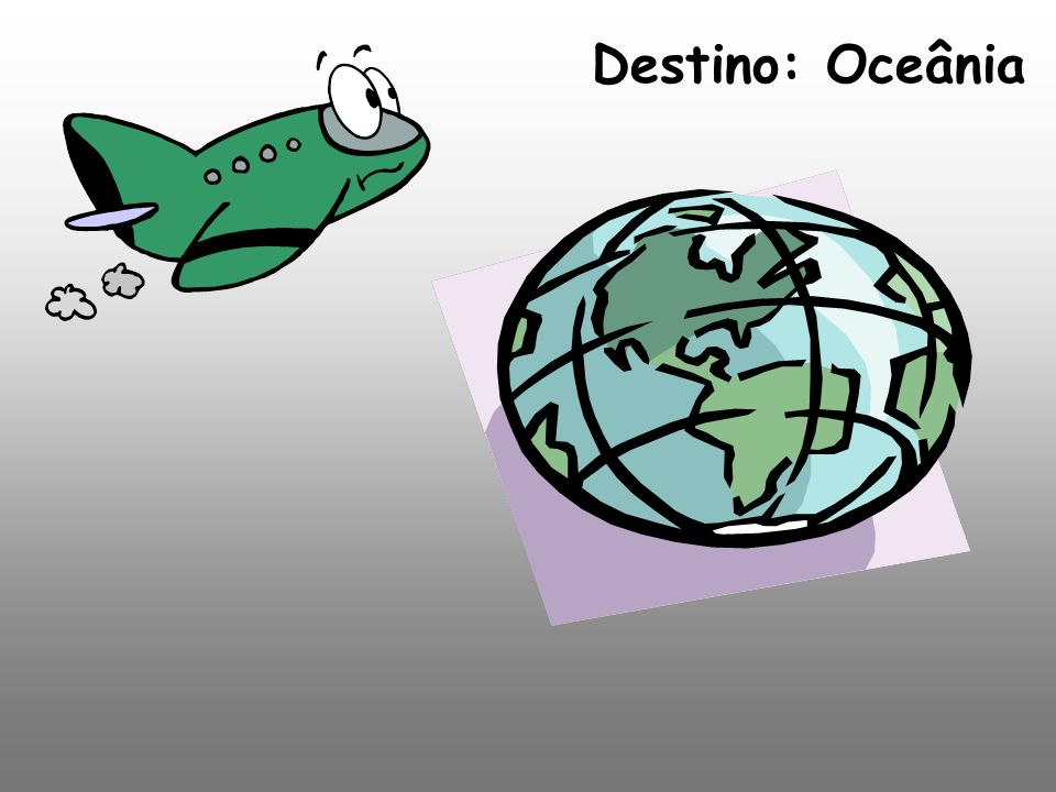Destino: Oceânia
