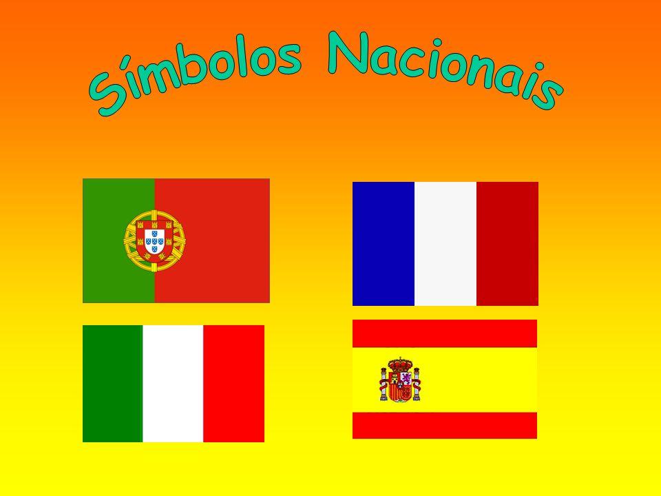 Introdução O nosso grupo debruçou-se sobre o tema dos símbolos nacionais, sendo esses símbolos os hinos e bandeiras dos 4 países parceiros no projecto EuTuNós: a Espanha, Itália, França e Portugal.