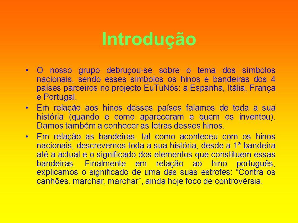 A Portuguesa Hino Português A Portuguesa (hino Nacional Português) nasceu em 1890.
