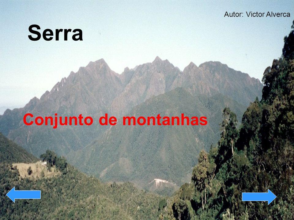 Serra Conjunto de montanhas Autor: Victor Alverca