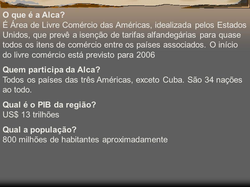 O que é a Alca.