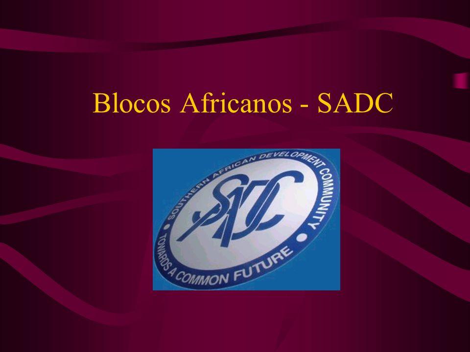 Os principais objetivos do SADC são: Conseguir o desenvolvimento e o crescimento econômico, aliviar a pobreza, melhorar o padrão e a qualidade de vida dos povos da África do sul.
