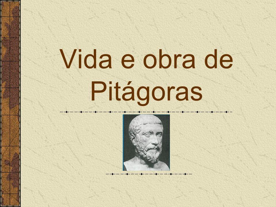 Vida e obra de Pitágoras