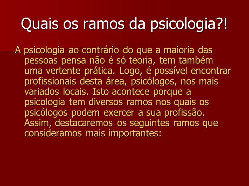 Todavia, o termo psicologia só aparece no século XVI com Rodolfo Goclénio. Tem-se afirmado que a Psicologia é uma ciência com um longo passado, mas co